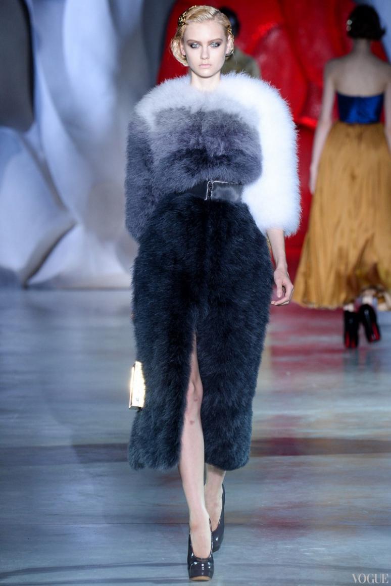 Ulyana Sergeenko Couture осень-зима 2014/2015 #16
