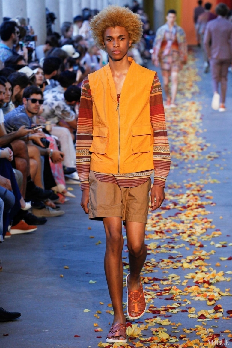 Missoni Menswear весна-лето 2016 #3