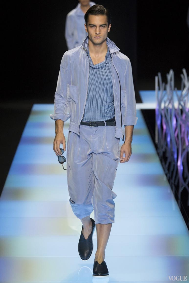 Giorgio Armani Menswear весна-лето 2016 #2