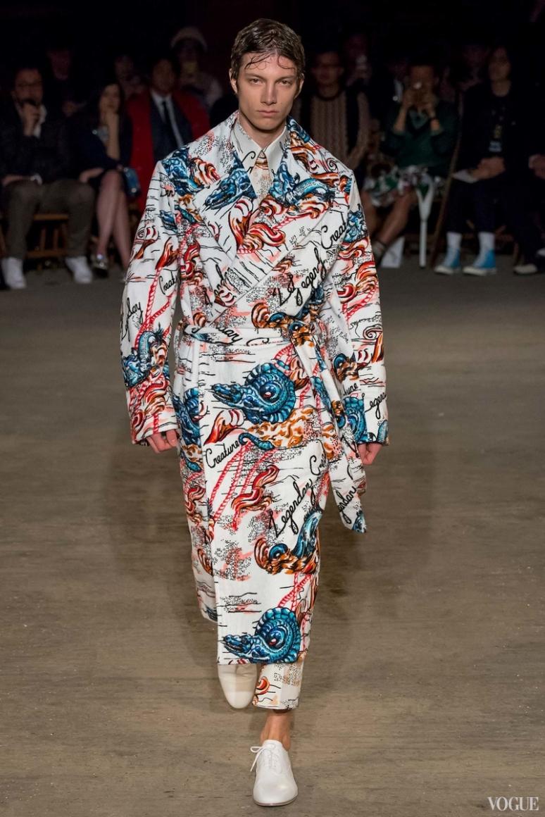 Alexander McQueen Menswear весна-лето 2016 #1