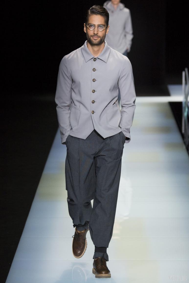 Giorgio Armani Menswear весна-лето 2016 #39