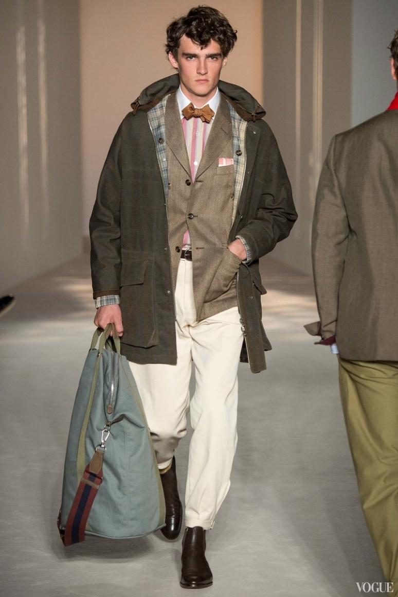 Dunhill Menswear весна-лето 2016 #18