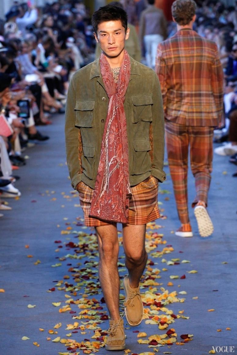 Missoni Menswear весна-лето 2016 #9