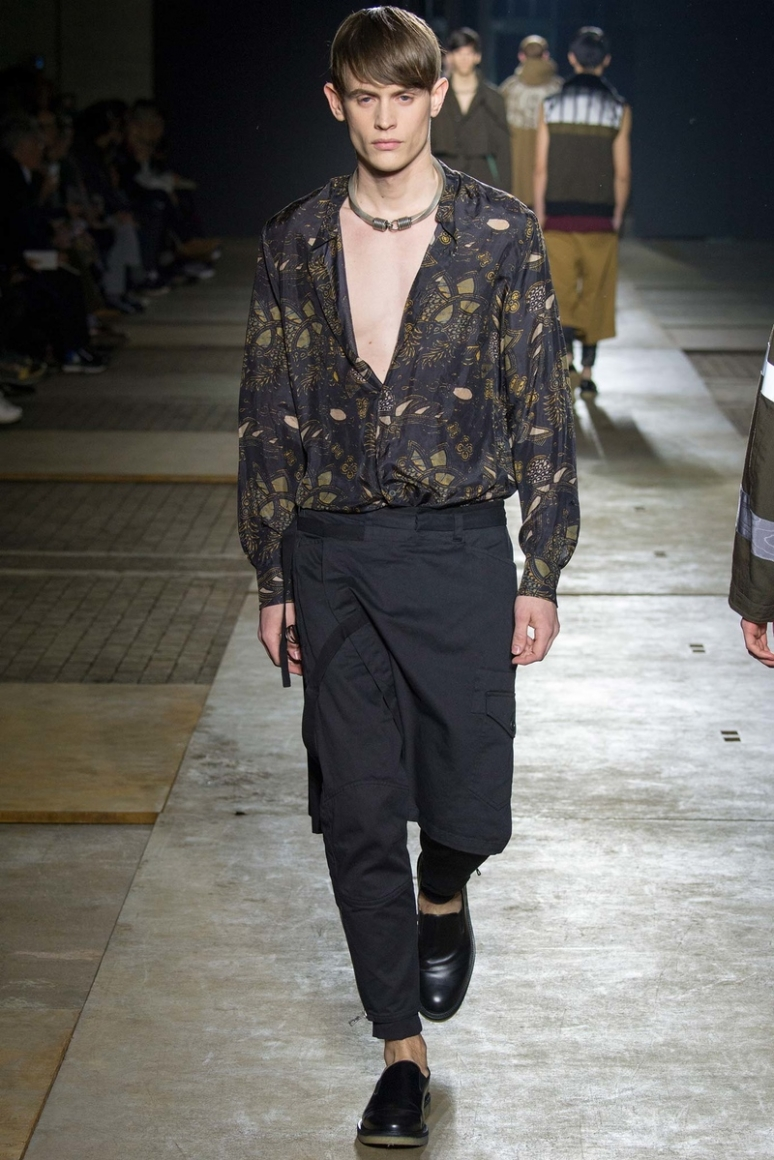 Dries van Noten Menswear осень-зима 2015/2016 #46