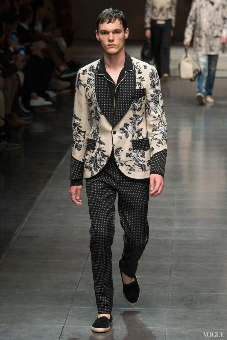 Dolce & Gabbana Menswear весна-лето 2016 #62