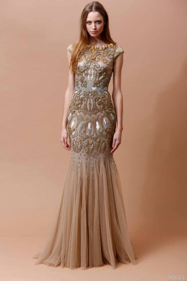 Badgley Mischka Couture весна-лето 2013 #1