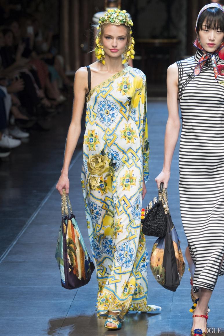 Dolce & Gabbana весна-лето 2016 #42