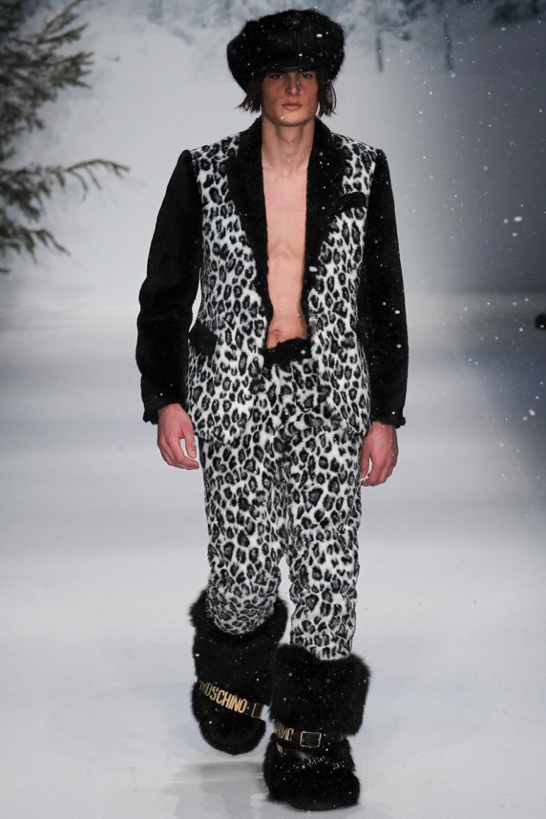 Moschino Menswear осень-зима 2015/2016 #40