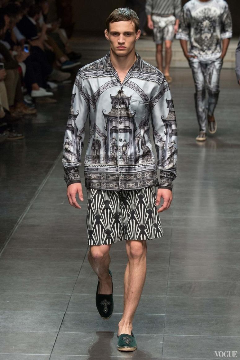 Dolce & Gabbana Menswear весна-лето 2016 #80