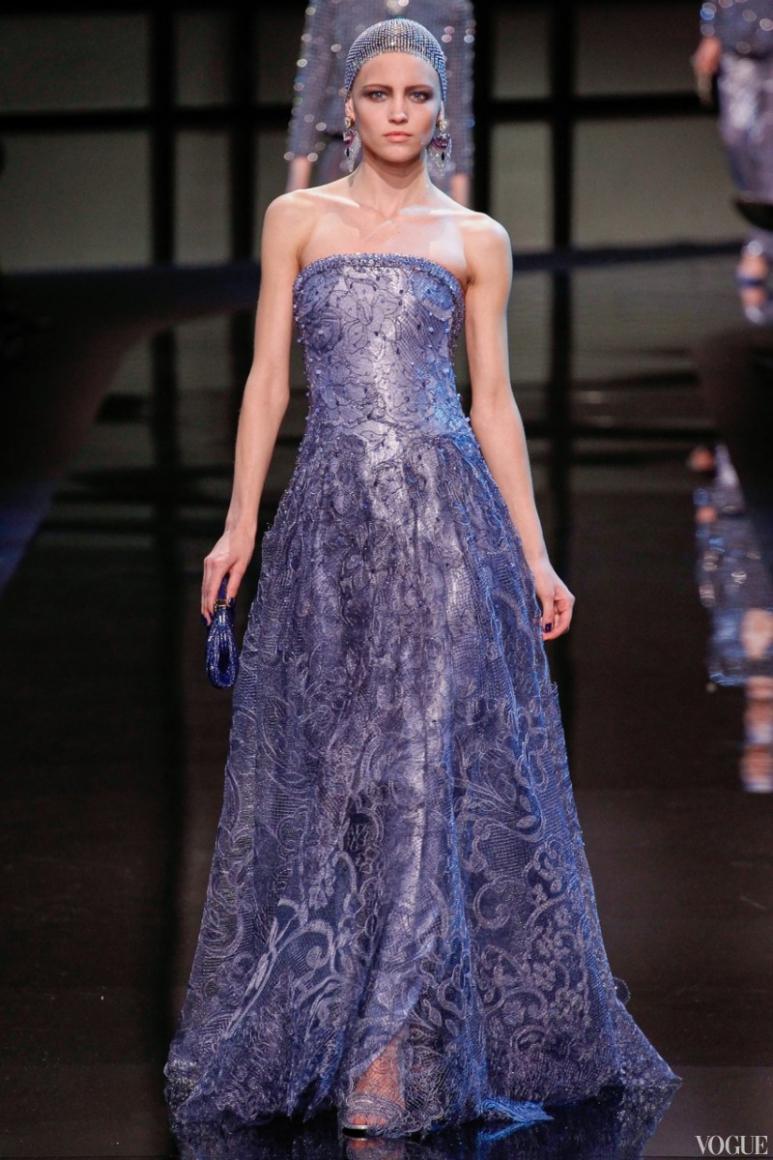 Armani Priv? Couture весна-лето 2014 #23