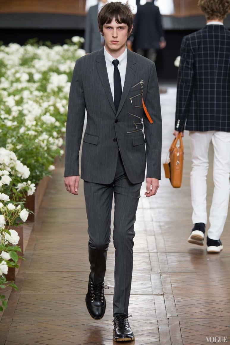 Dior Homme Menswear весна-лето 2016 #24