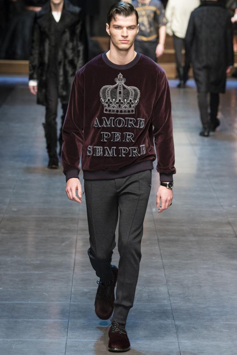 Dolce & Gabbana Menswear осень-зима 2015/2016 #76