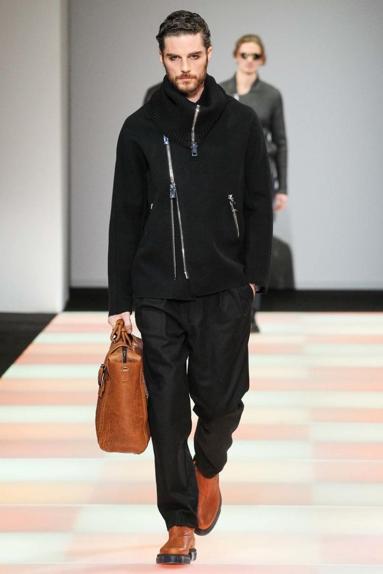 Emporio Armani Menswear осень-зима 2015/2016 #19