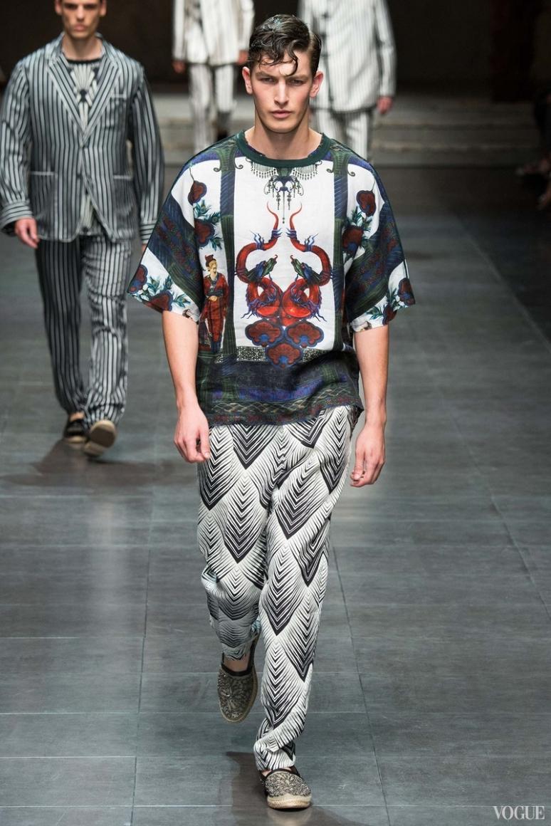 Dolce & Gabbana Menswear весна-лето 2016 #24