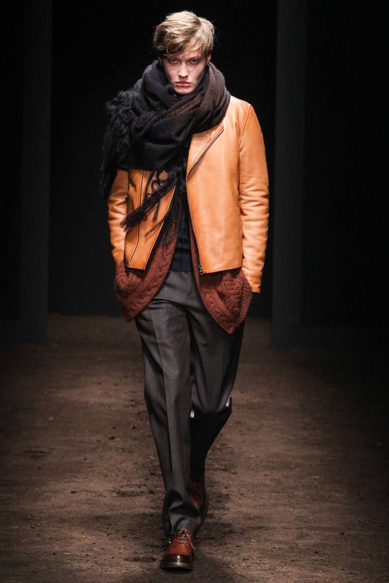 Salvatore Ferragamo Menswear осень-зима 2015/2016 #5