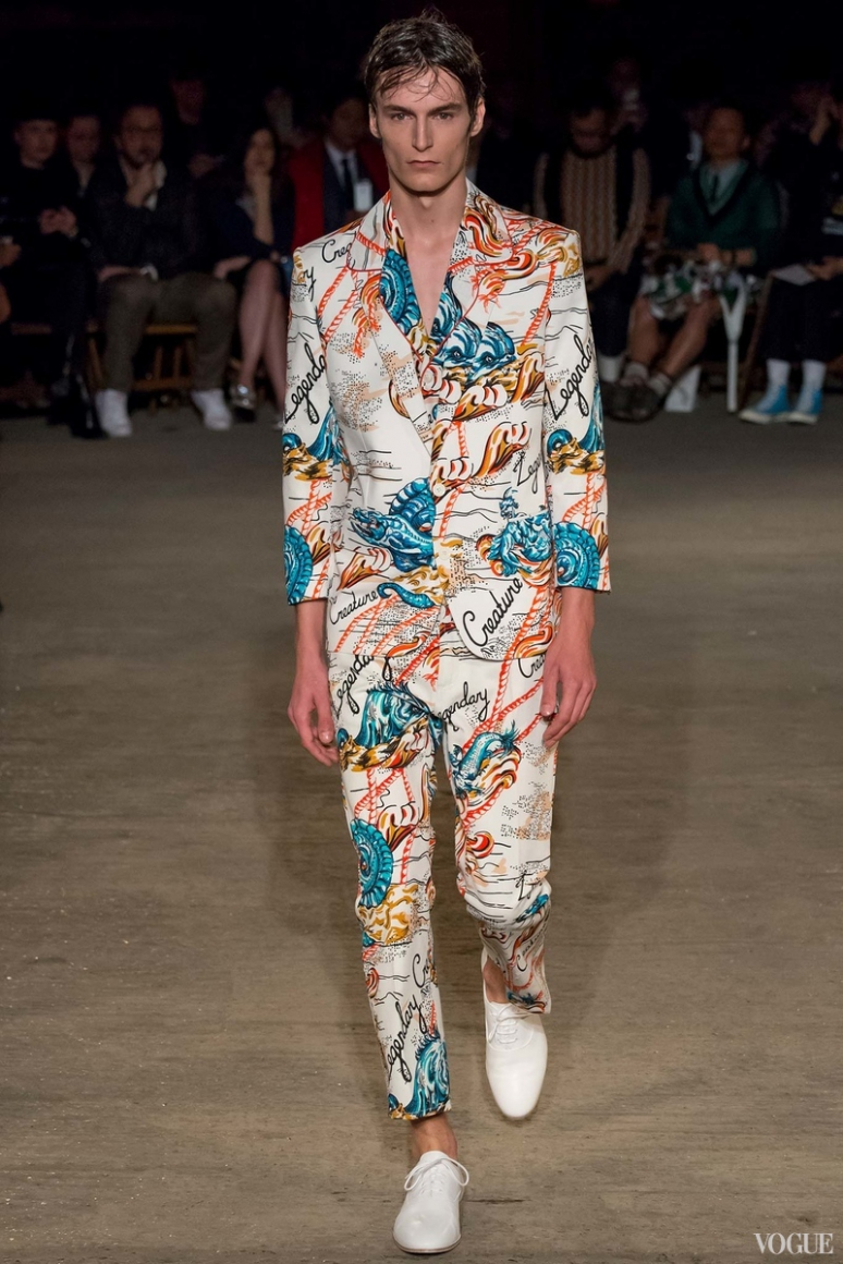Alexander McQueen Menswear весна-лето 2016 #3