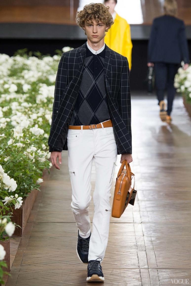 Dior Homme Menswear весна-лето 2016 #30