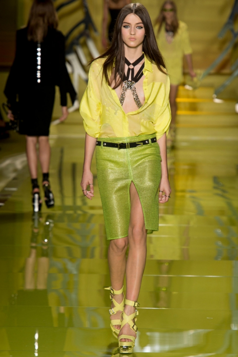 Versace весна-лето 2014 #25