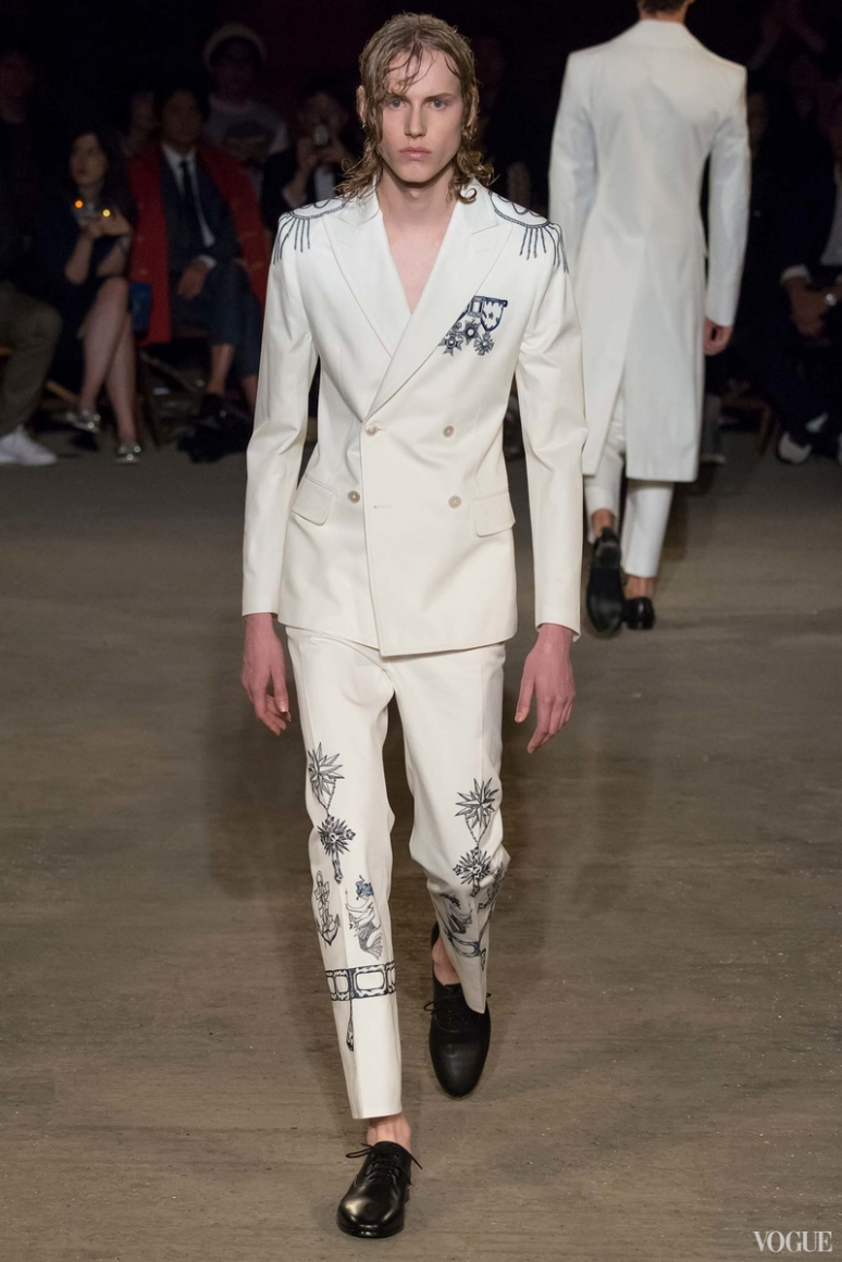 Alexander McQueen Menswear весна-лето 2016 #33