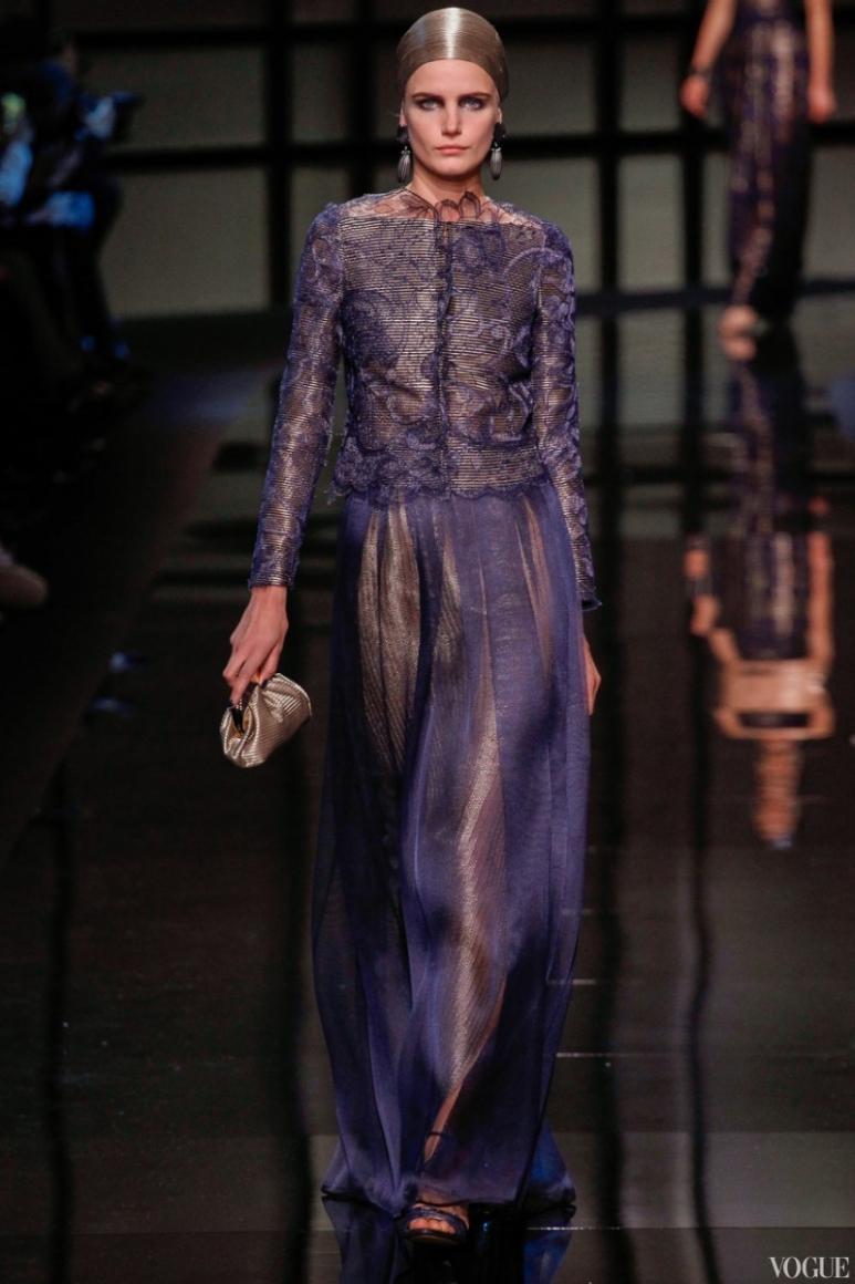 Armani Priv? Couture весна-лето 2014 #30