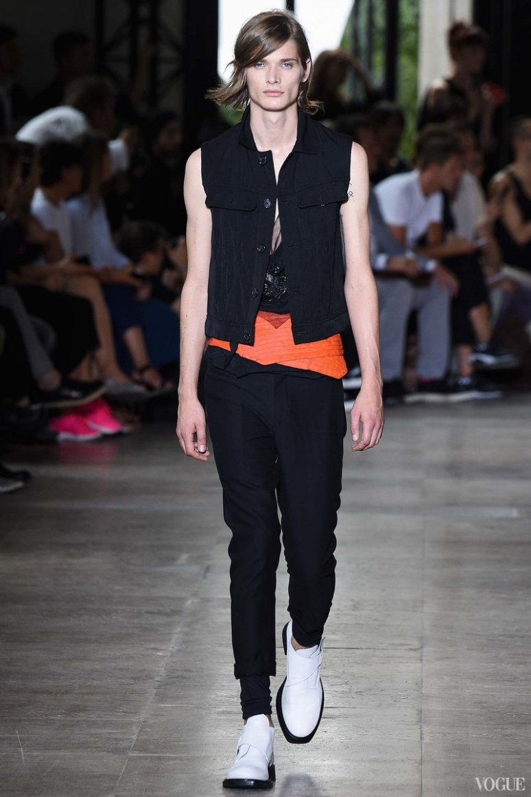 Ann Demeulemeester Menswear весна-лето 2016 #5
