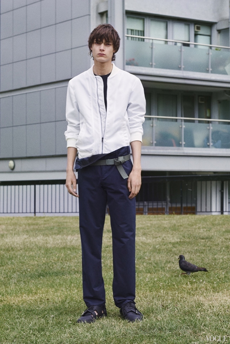 John Galliano Menswear весна-лето 2016 #26