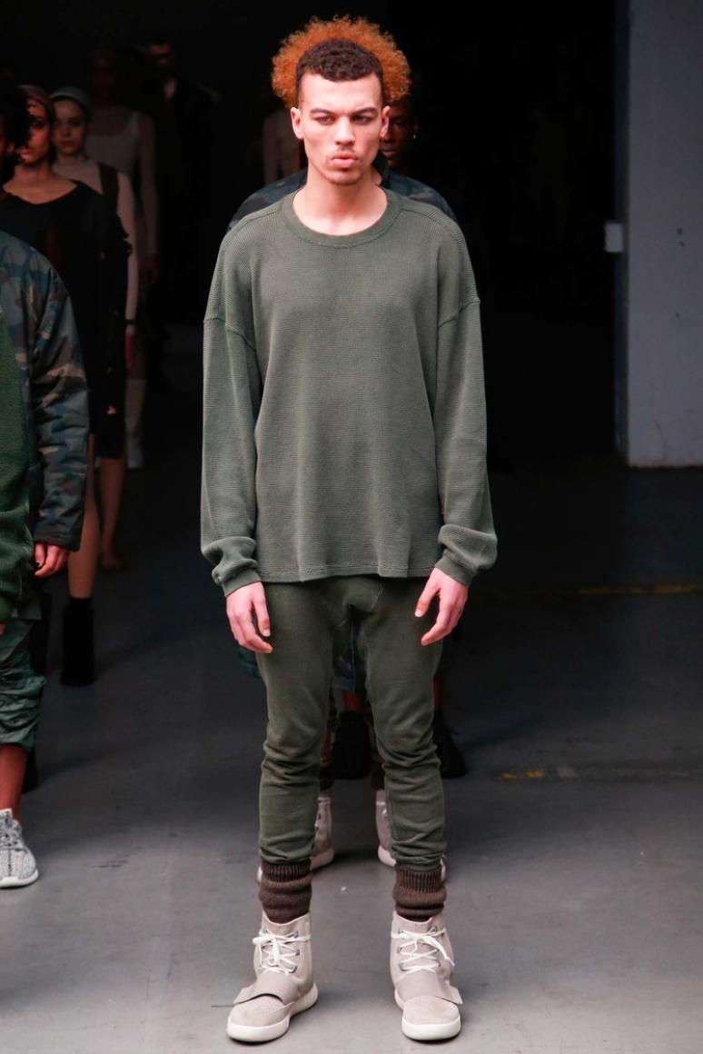 Kanye West x Adidas Originals осень-зима 2015/2016 #1