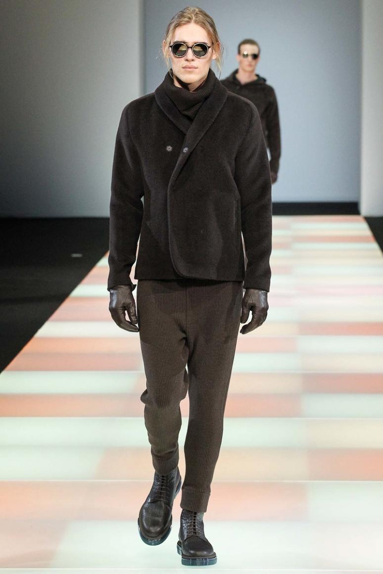 Emporio Armani Menswear осень-зима 2015/2016 #41