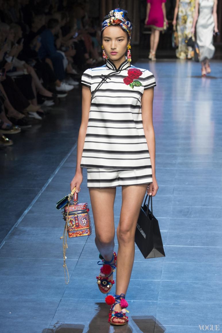 Dolce & Gabbana весна-лето 2016 #45