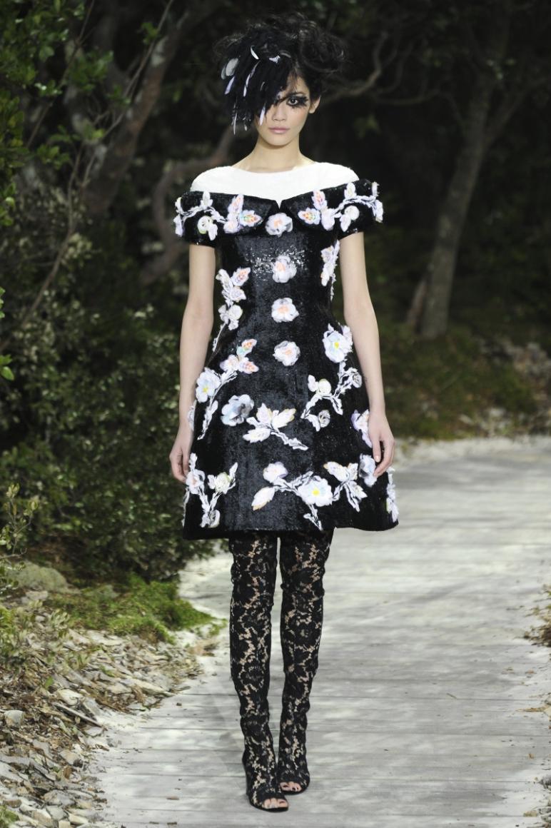 Chanel Couture весна-лето 2013 #35
