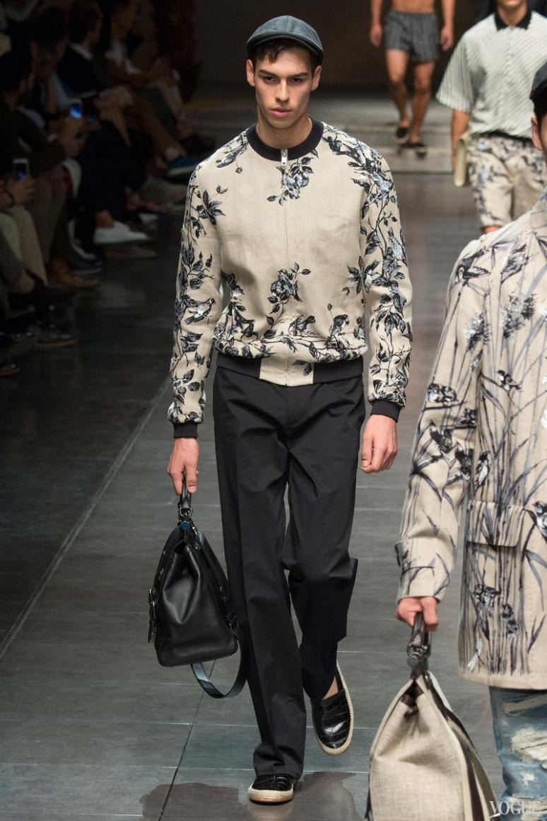 Dolce & Gabbana Menswear весна-лето 2016 #59