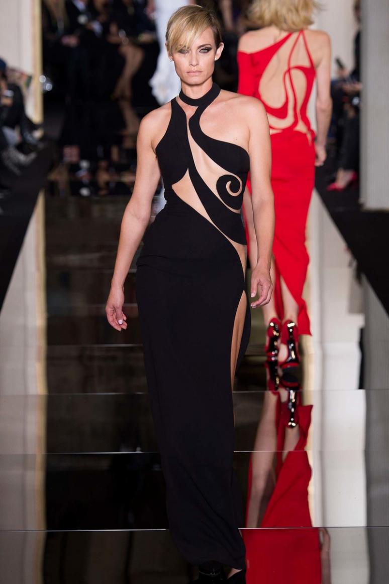 Atelier Versace Couture весна-лето 2015 #3