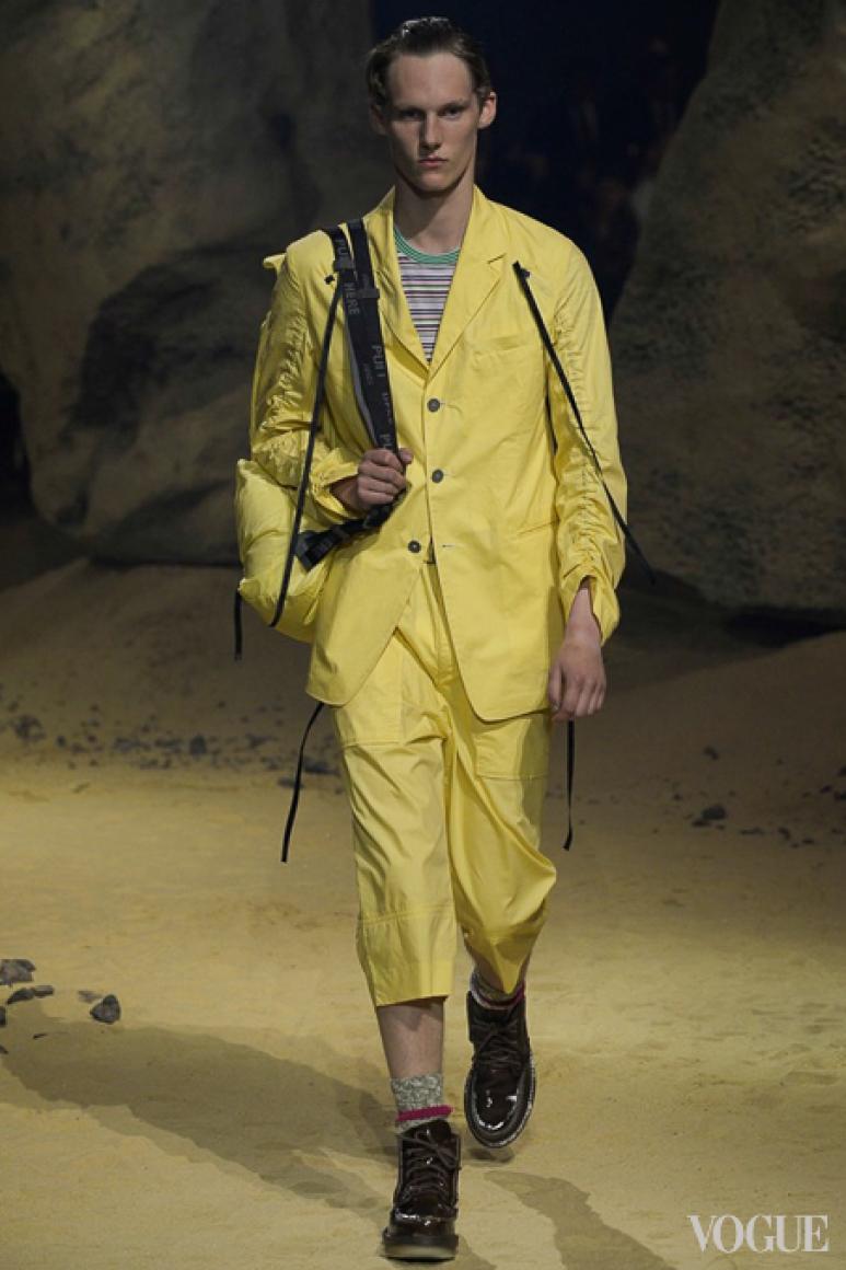 Kenzo Menswear весна-лето 2016 #21