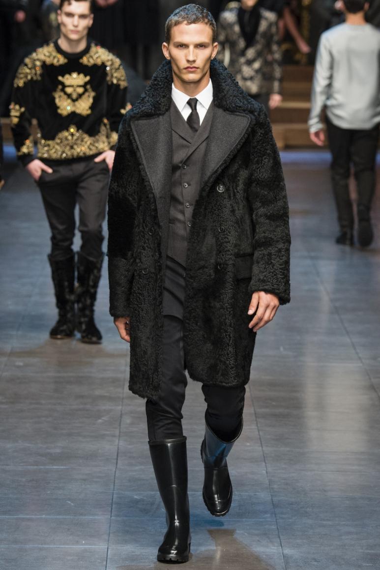 Dolce & Gabbana Menswear осень-зима 2015/2016 #67