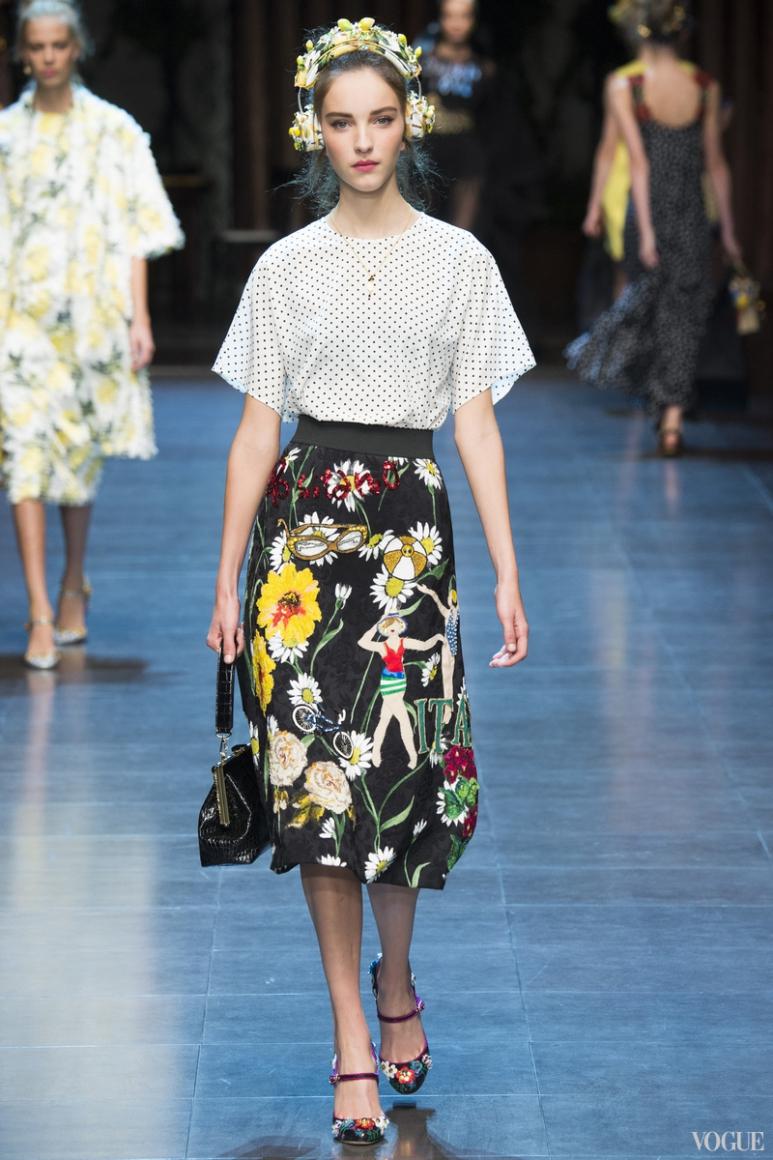 Dolce & Gabbana весна-лето 2016 #88