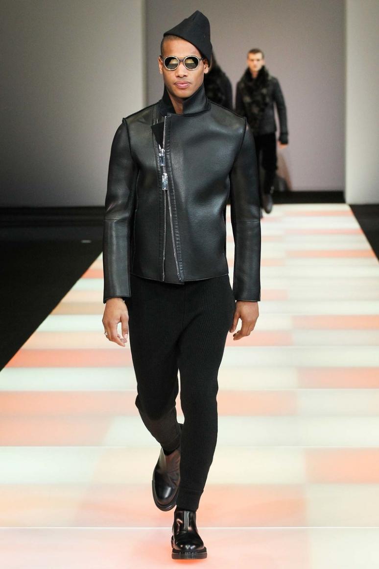 Emporio Armani Menswear осень-зима 2015/2016 #28