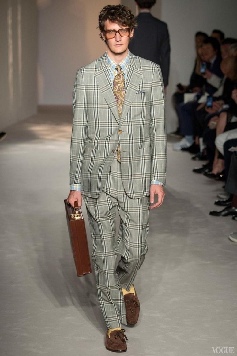 Dunhill Menswear весна-лето 2016 #26