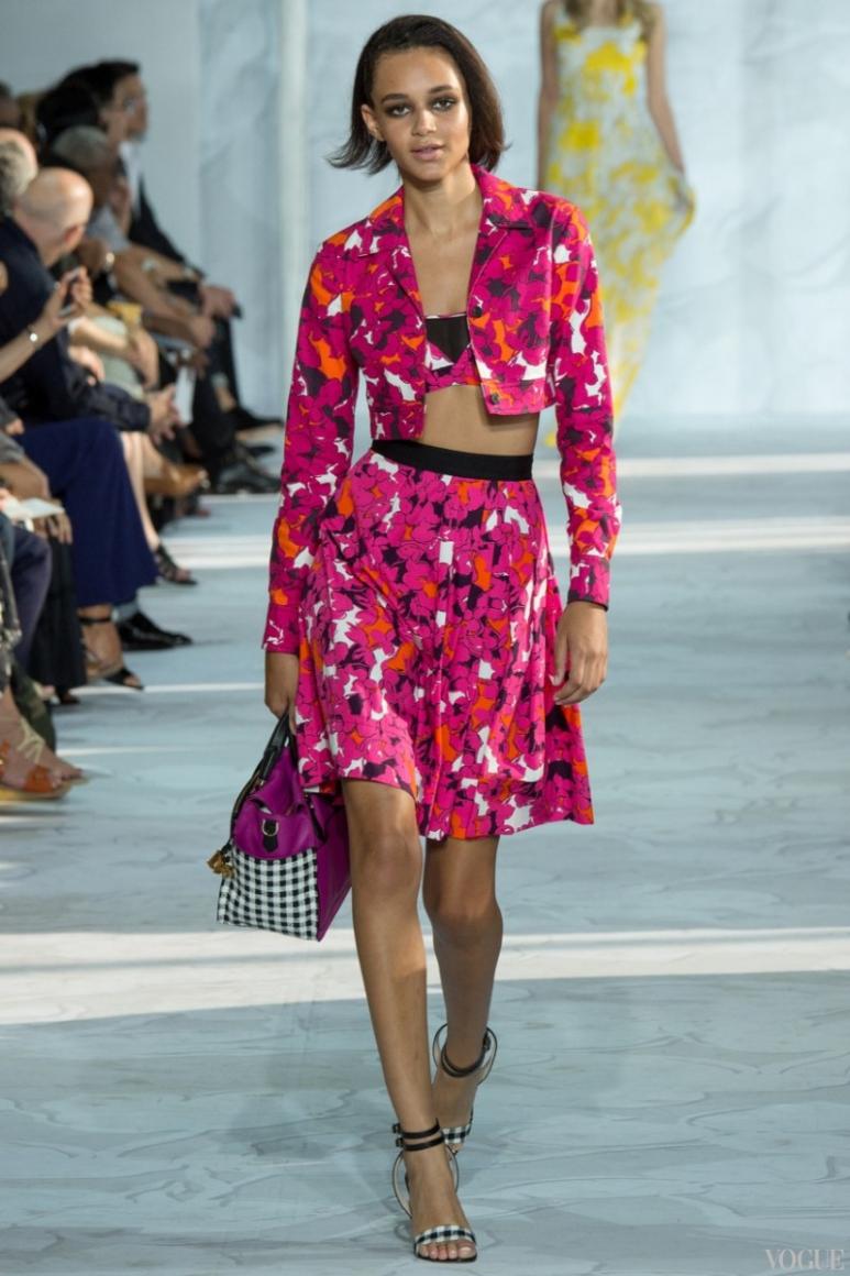 Diane Von Furstenberg весна-лето 2015 #8