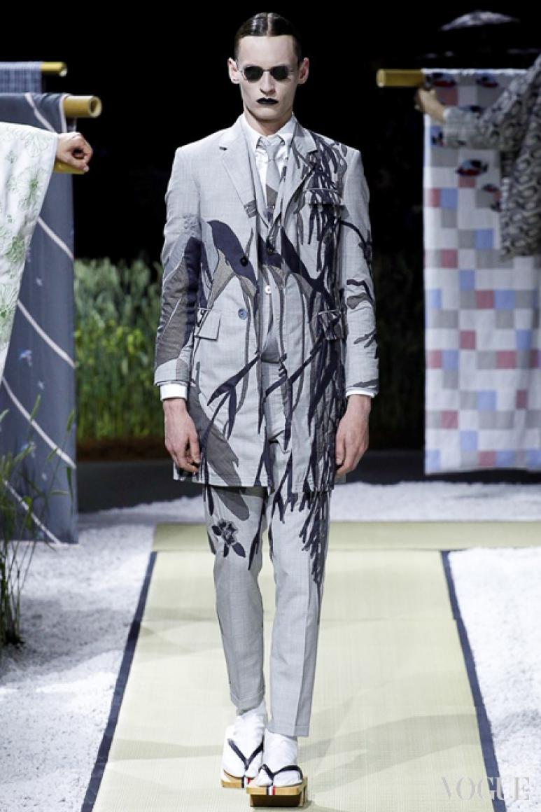 Thom Browne Menswear весна-лето 2016 #32