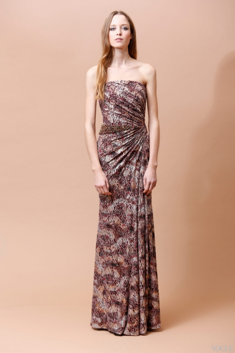 Badgley Mischka Couture весна-лето 2013 #16