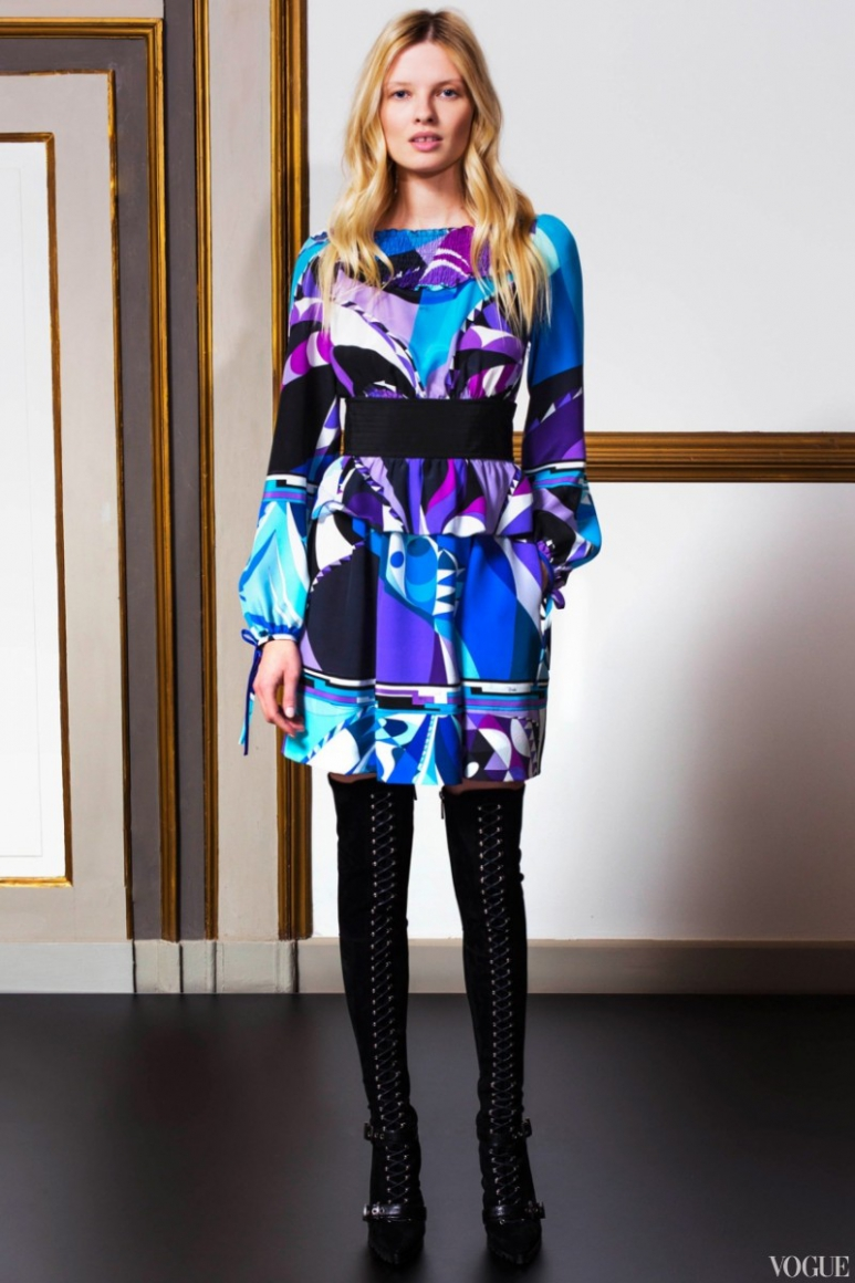 Emilio Pucci Couture весна-лето 2013 #16
