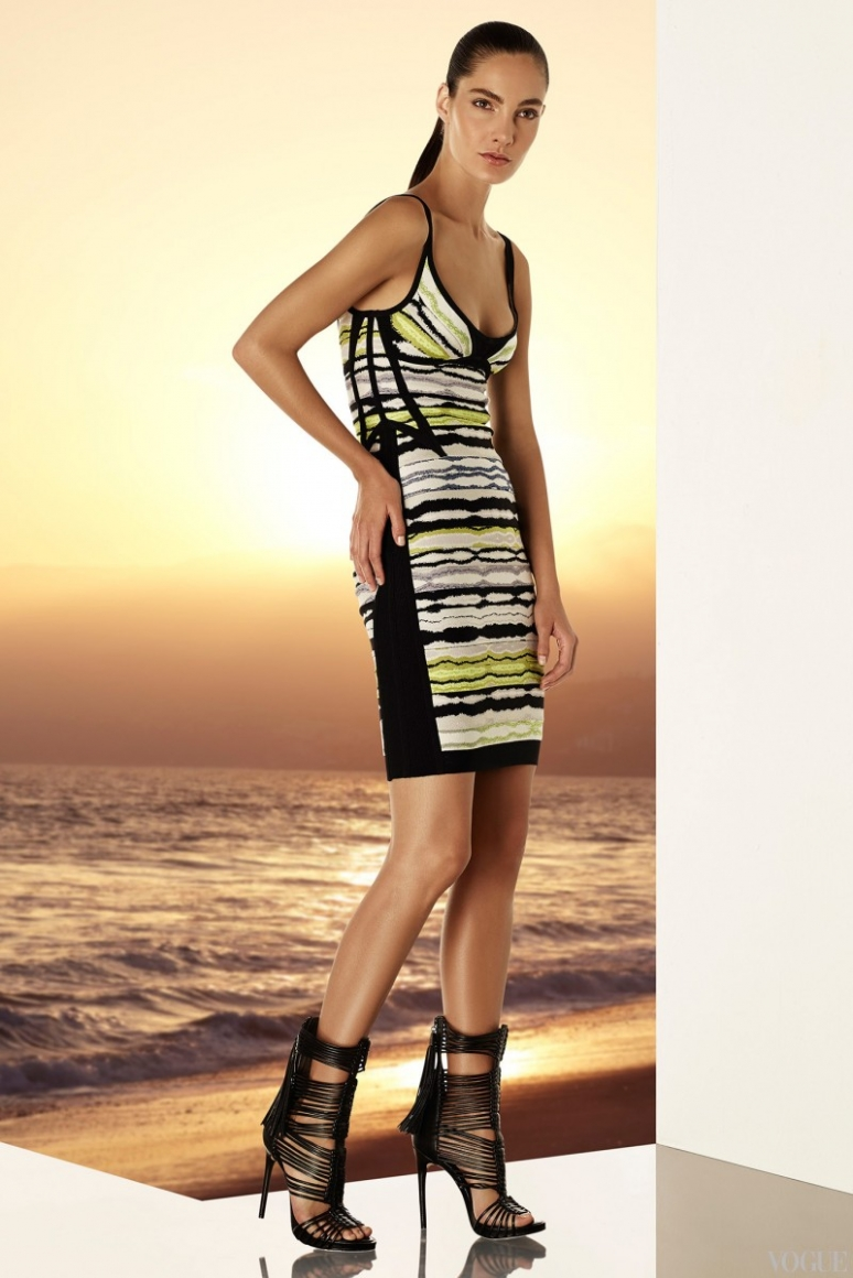 Herve Leger by Max Azria Resort 2015 #16