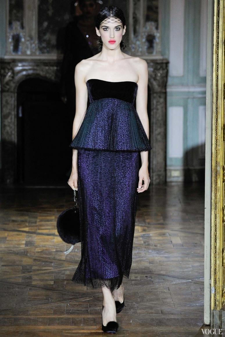 Ulyana Sergeenko Couture осень-зима 2015/2016 #10