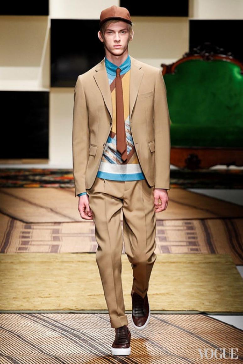 Salvatore Ferragamo Menswear весна-лето 2016 #20