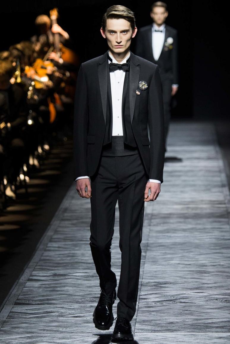 Dior Homme Menswear осень-зима 2015/2016 #48