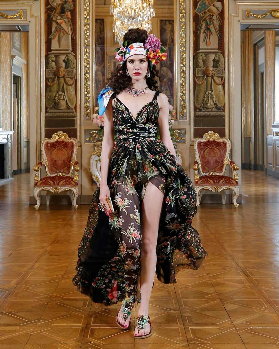 Коллекция Dolce & Gabbana Alta Moda весна-лето 2021 фото