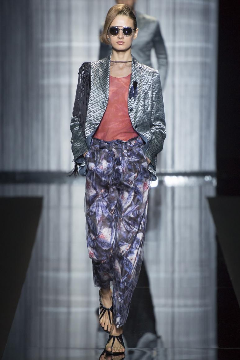 Giorgio Armani весна-лето 2017 - fashion-womancom