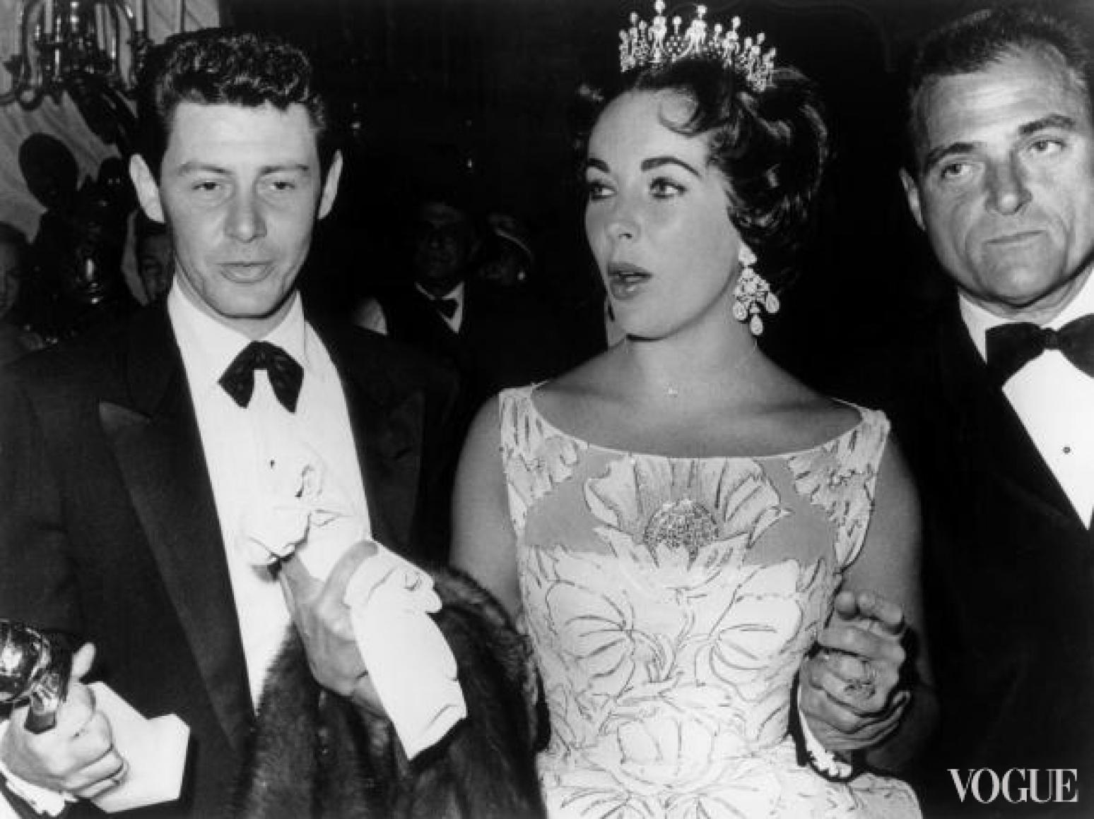 Эди Фишер, Элизабет Тейлор и Майк Тодд (1958)