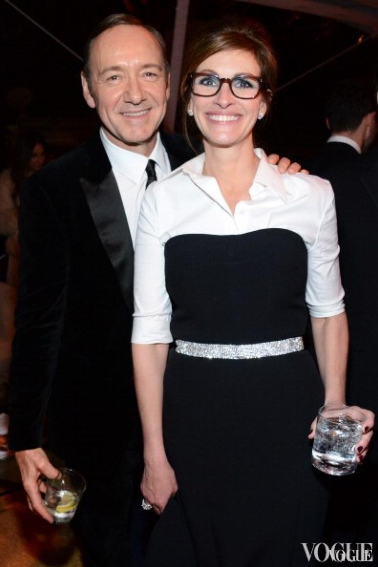 Джулия Робертс и Кевин Спейси (2014)