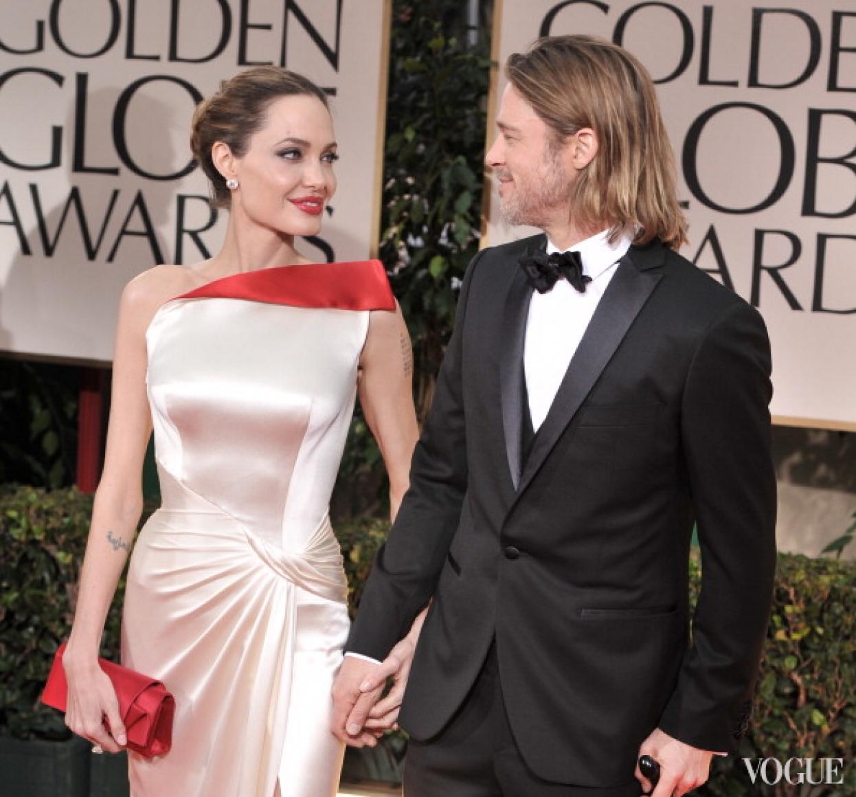 Анджелина Джоли и Брэд Питт (2007)